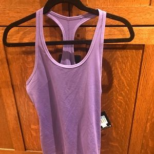 NWT purple dri fit Nike exercise tank